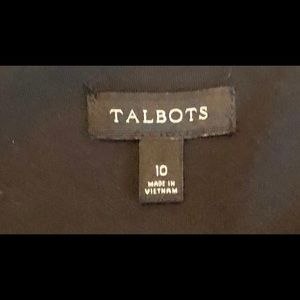 Talbots Dresses - TALBOTS LBD Black 3/4 Sleeve Empire Waist
